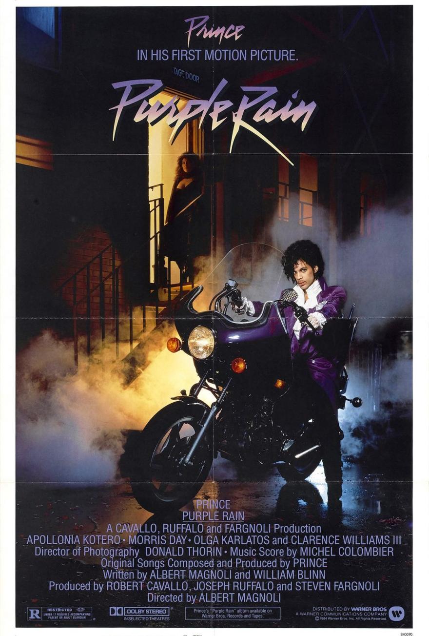 Purple Rain (1984) poster