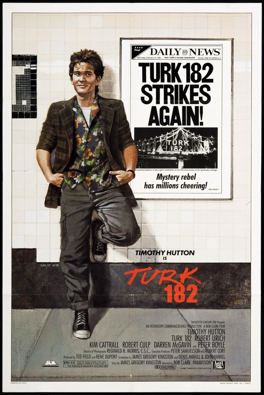 Turk 182 (1985) poster